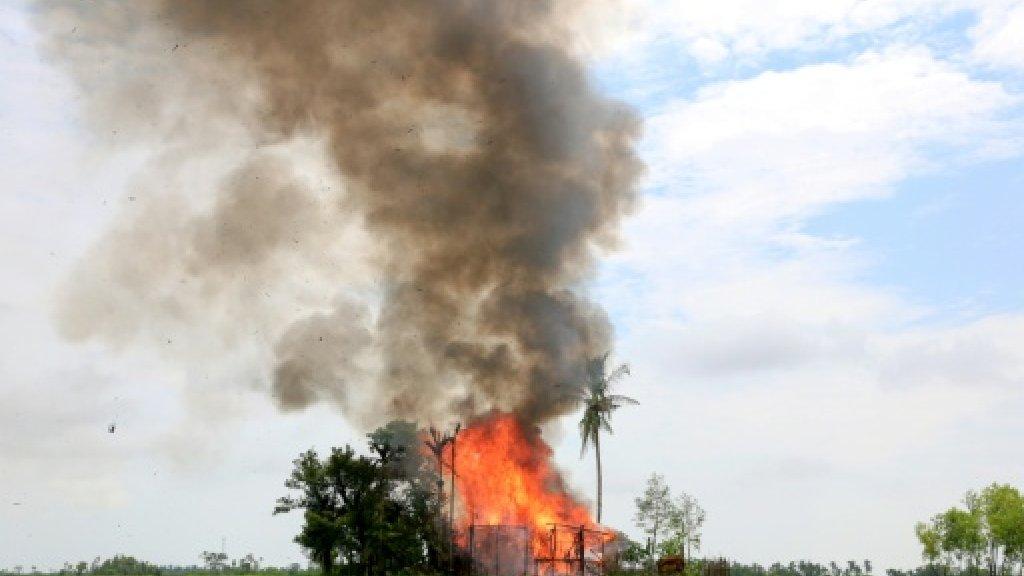 US targets Myanmar military over Rohingya violence