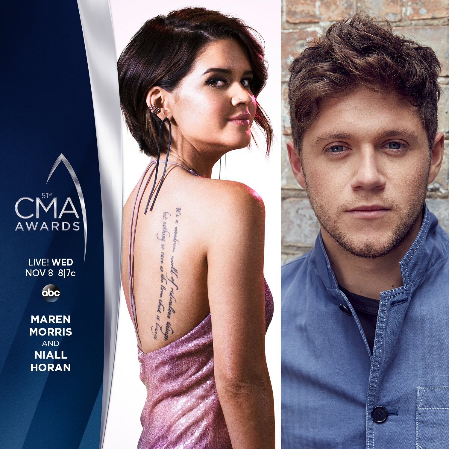 Delighted to say I'm performing Live with @MarenMorris at the #CMAawards ! Watch Wed 8th Nov on ABC https://t.co/3TVPVwgpC8