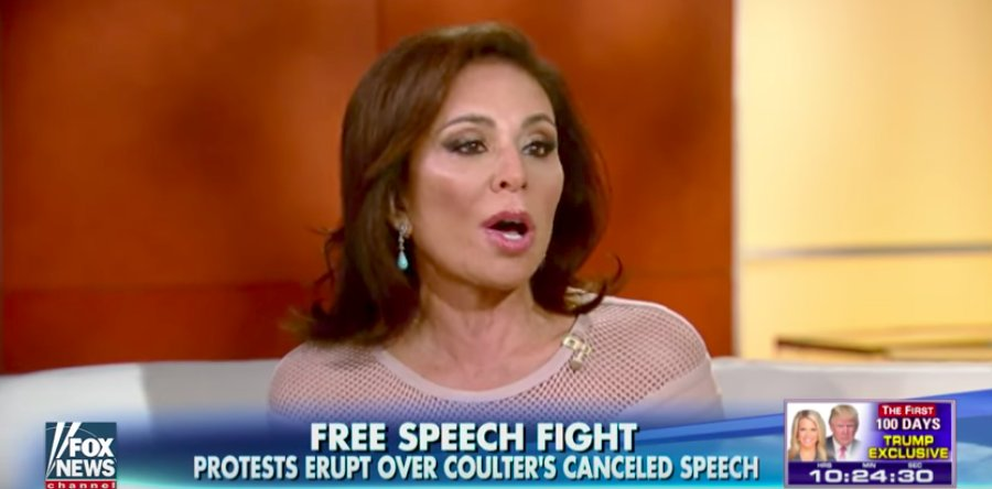 Fox News' Judge Jeanine doesn't want the media to know what she told California Republicans