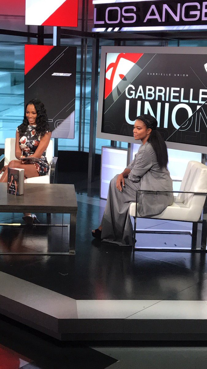 RT @CariChampion: Tune in now! @itsgabrielleu is on the show. Turn to @espn! NOW https://t.co/vyLC1eyau0