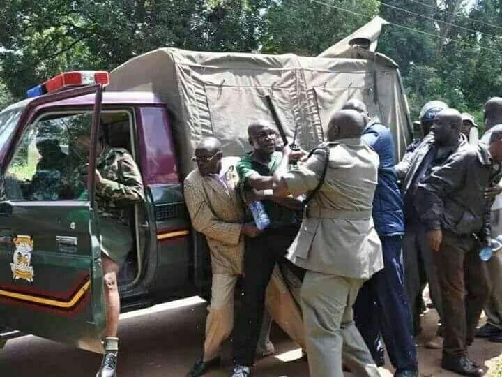 Police raid former Kakamega Senator Boni Khalwale's home