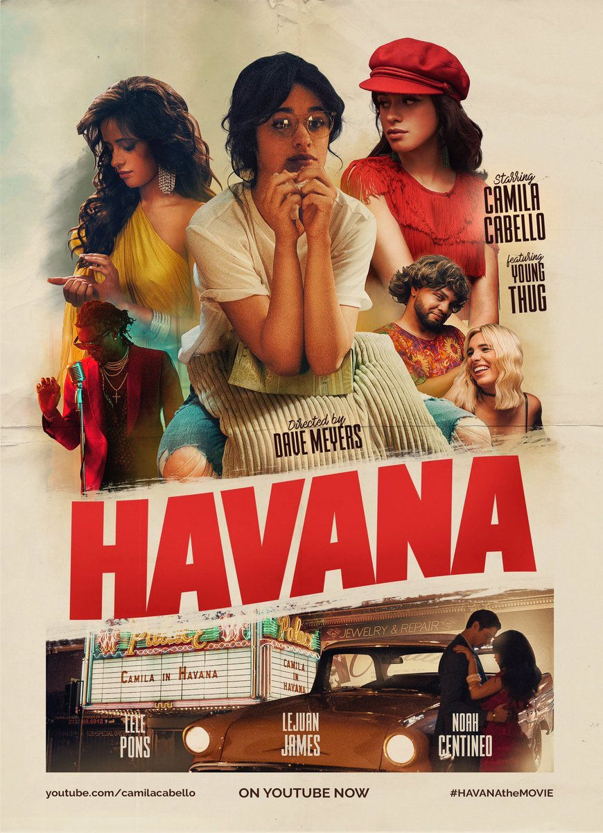 #HAVANAtheMOVIE OUT NOW! ����@Camila_Cabello https://t.co/Yrdq362NQl https://t.co/sV2JBEN63f