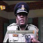 Police storm Fmr. Kakamega senator's home in Ikolomani