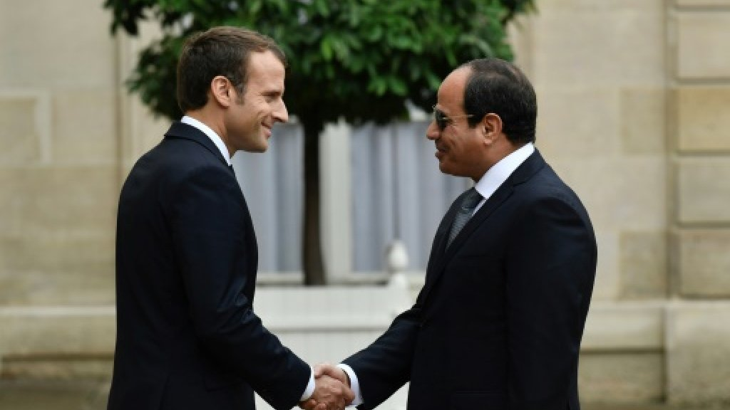 Macron says no 'lessons' to Egypt's Sisi over human rights
