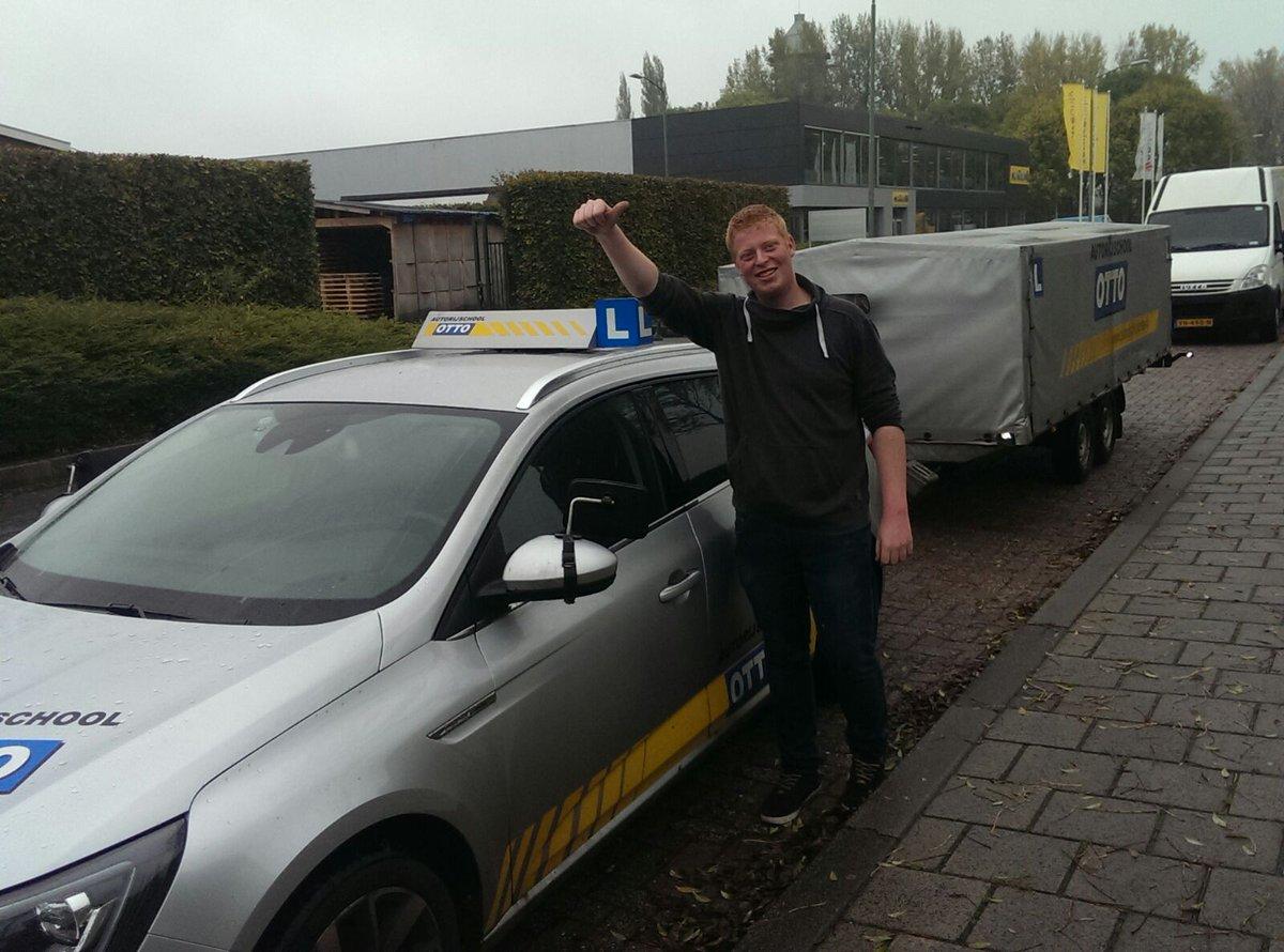 test Twitter Media - Goed bezig Thijs van Wingerden, 4 maanden geleden je B rijbewijs in 1x en vandaag je BE aanhanger rijbewijs ook in 1x weten te behalen. https://t.co/eTth2N6umF