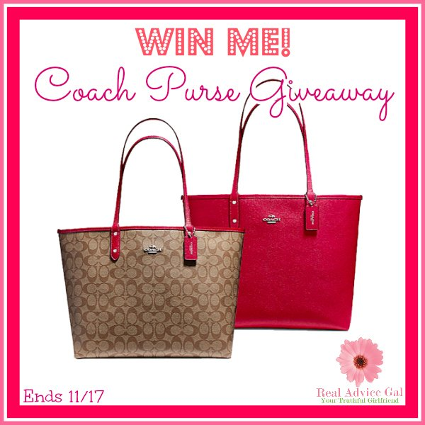 Beautiful Coach Purse Giveaway