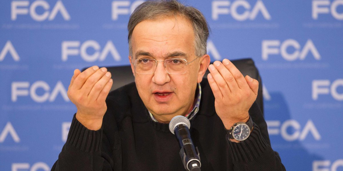 Marchionne says FCA is no laggard in autonomous vehicle development
