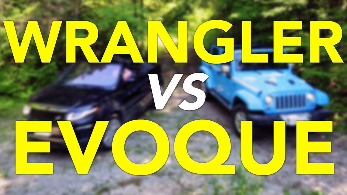 Off-Road Fun-in-the-Sun Comparison (But Not a Real Comparison): Jeep Wrangler and Range Rover Evoque - Dauer: 13 Minuten
