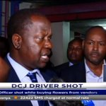 Deputy Chief Justice Mwilu's driver shot