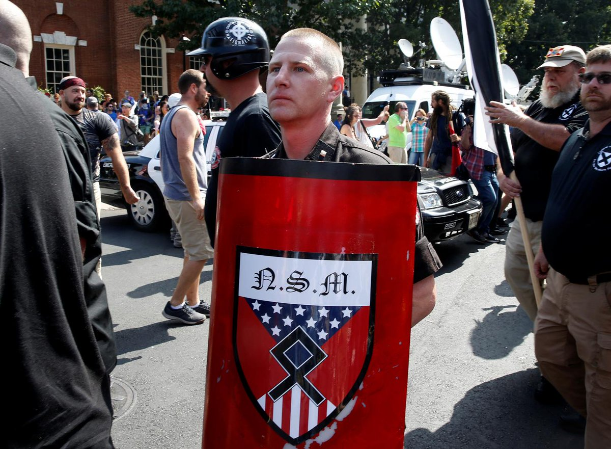U.S. troops say white nationalists are a bigger threat to America than ISIS jihadis