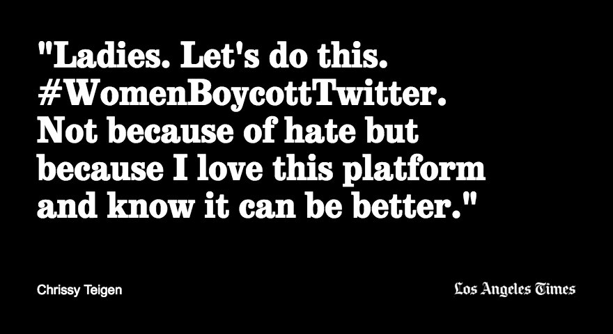 Thousands join #WomenBoycottTwitter after it suspended Rose McGowan's account https://t.co/nUETjwXcKu https://t.co/fztvY7OWk5