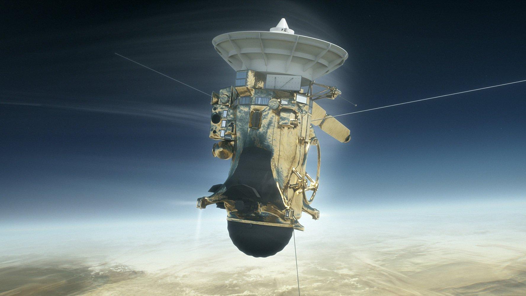 Cassini Battled Saturn Hard During Death Dive https://t.co/dlr9Mk5oAL https://t.co/nj1S9GtIYj