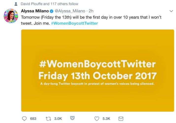 BuzzFeedNews: Tens of thousands are joining #WomenBoycottTwitter in response to Twitter speech rules … https://t.co/51RJyfkTfh