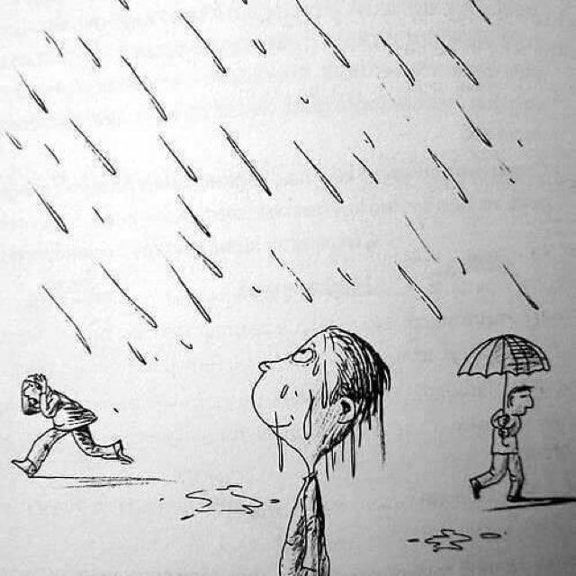Some People get Wet, Others feel the Rain.#FridayFeeling #Inspiration #Motivation #Gratitude #Believe #Faith