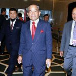 BNM forex RCI chairman arrives at Istana Negara to present findings to King
