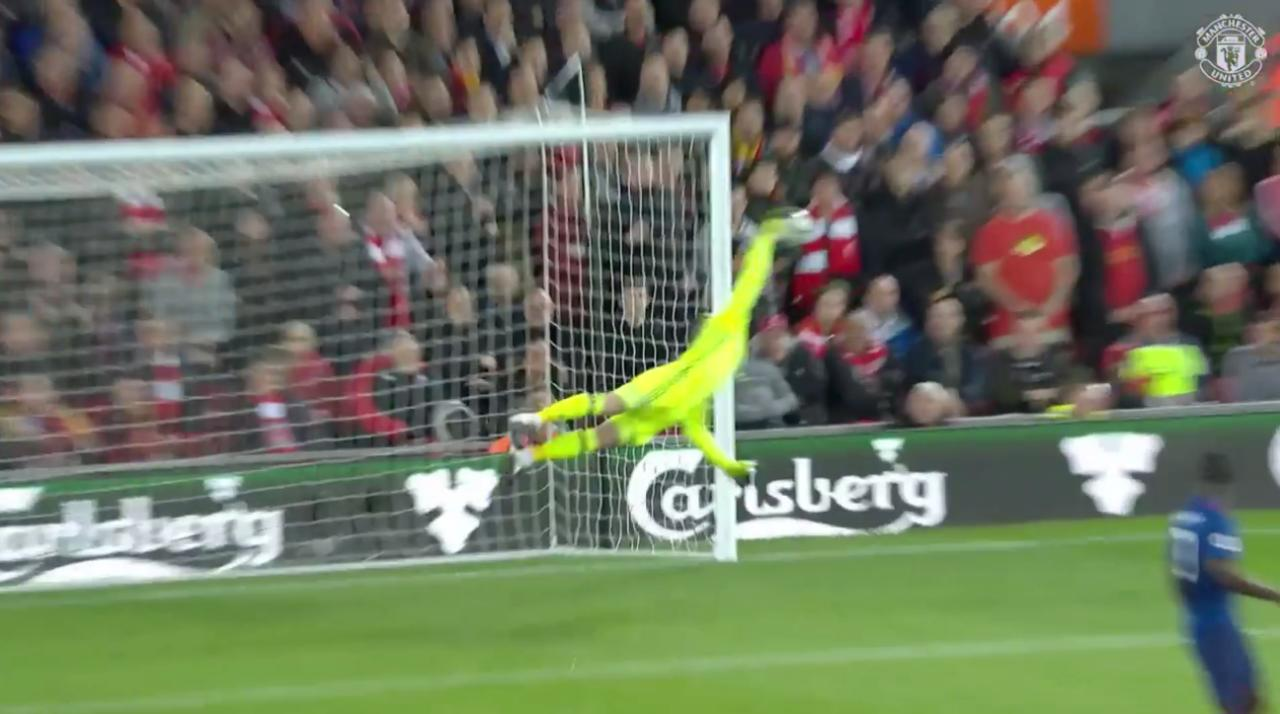 #DaveSaves in stunning fashion the last time out at Liverpool... https://t.co/zglBKUgbzz