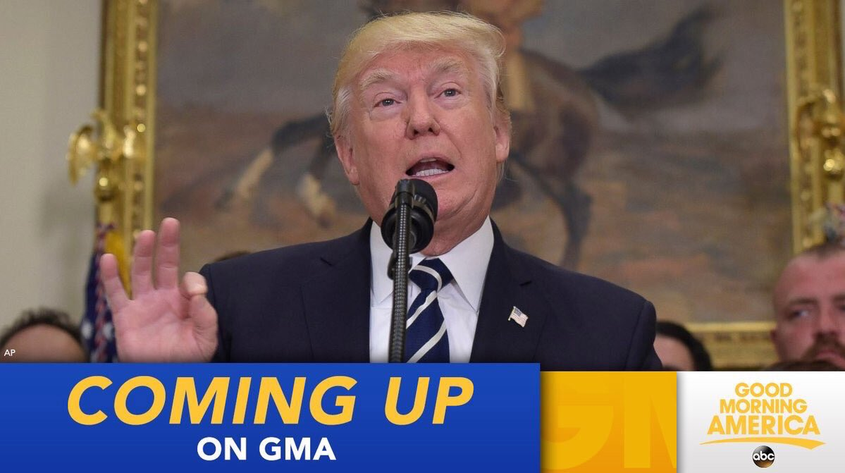 COMING UP ON @GMA: President Trump expected to 'decertify' Obama-era Iran deal https://t.co/moI5W7rKfQ