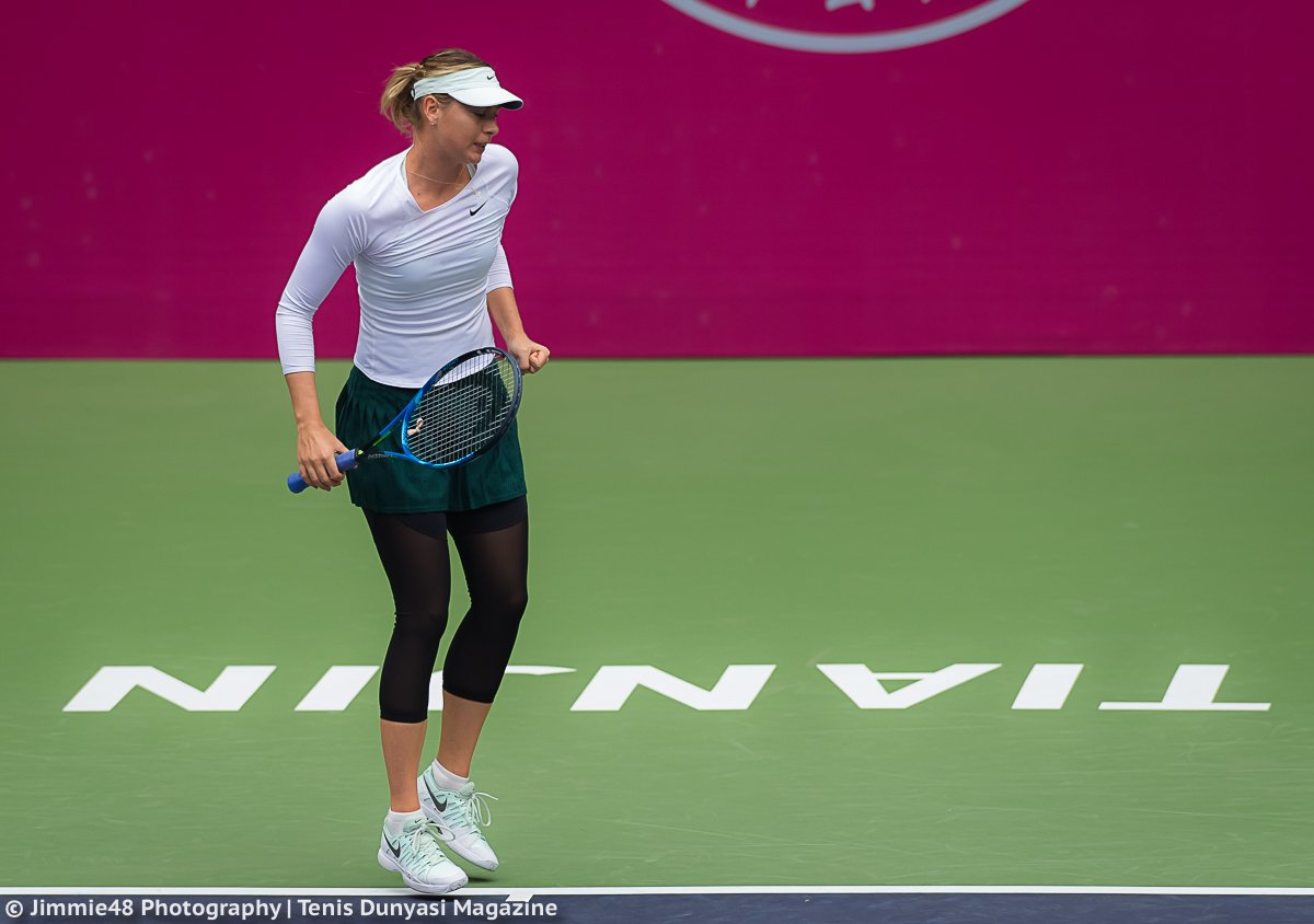 RT @JJlovesTennis: On the go in Tianjin: @MariaSharapova is through to the SF of the @TianjinOpen https://t.co/ObfXOJAEKF