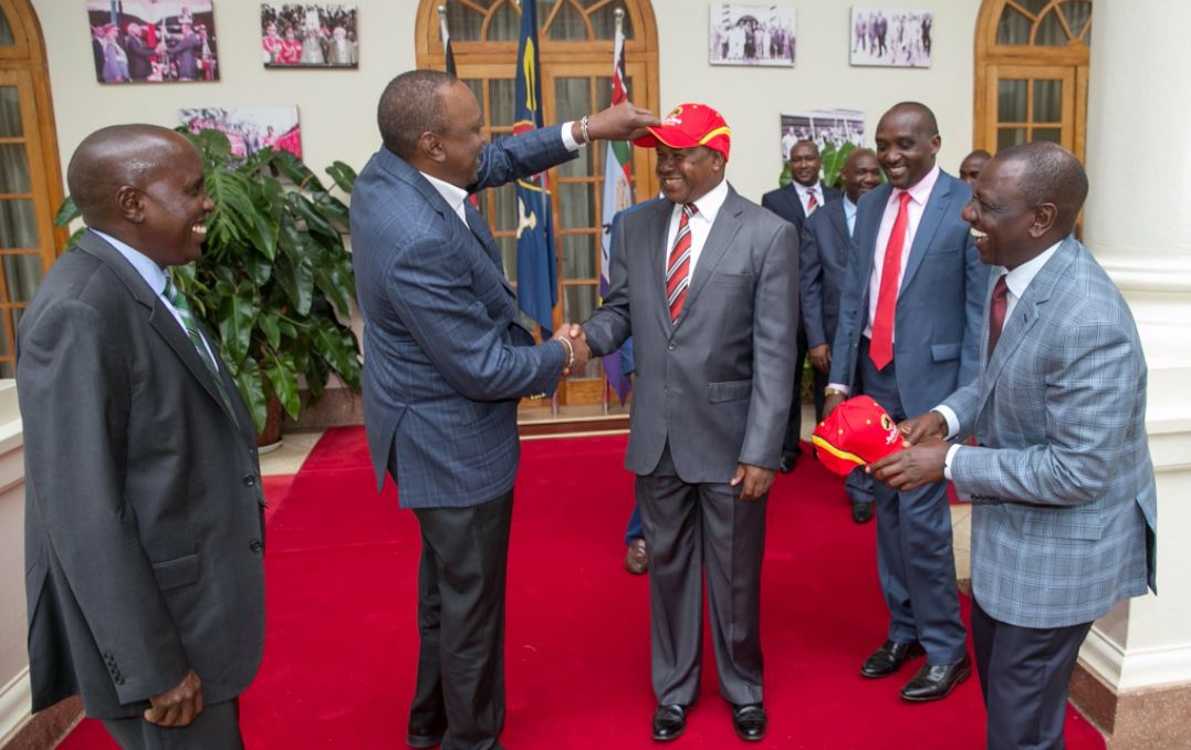 President Kenyatta formally receives ex-Kajiado Governor Nkedianye to Jubilee