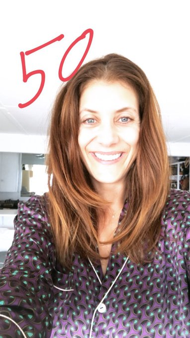 Happy birthday to the best redhead, kate walsh i love you