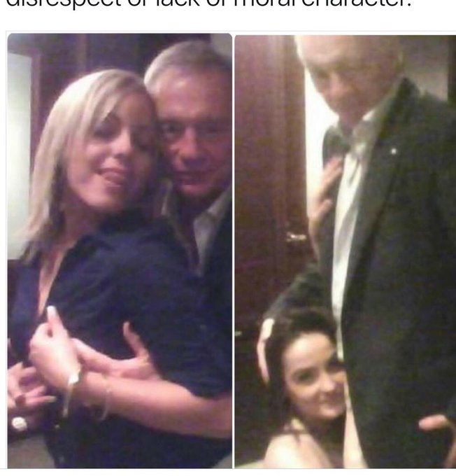 Let s wish dear old Jerry Jones happy birthday