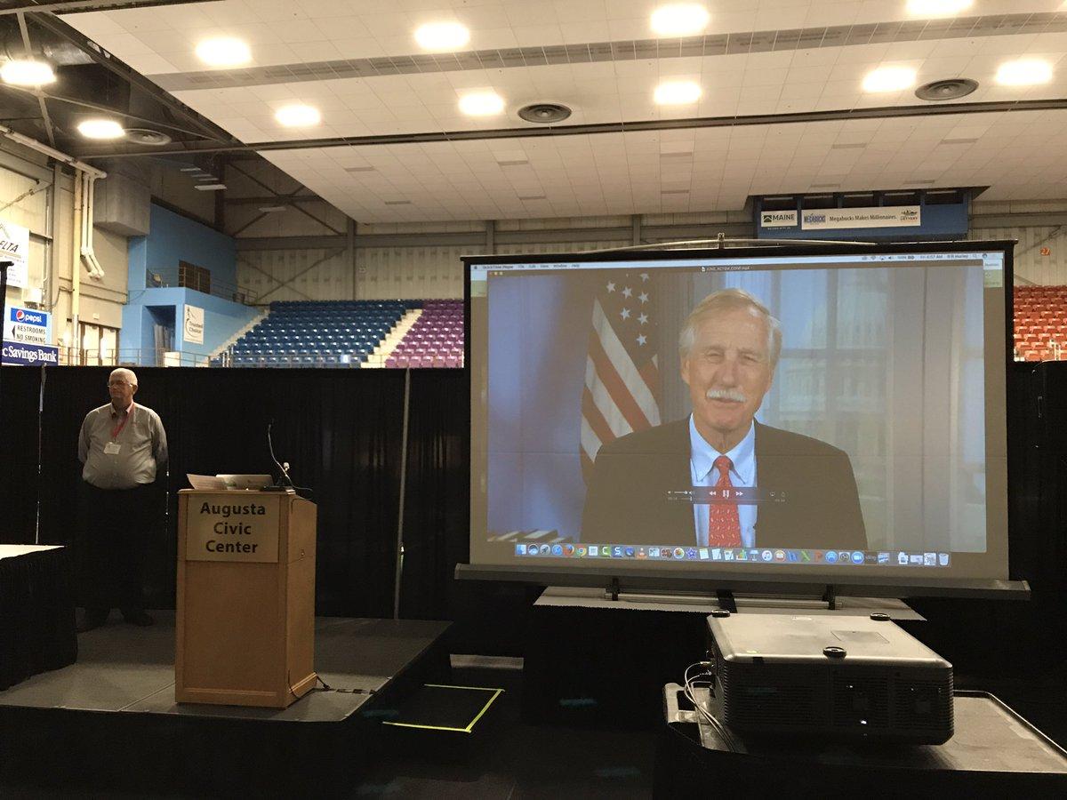Senator Angus King is at #ACTEM17 https://t.co/ONIAVBW1bp
