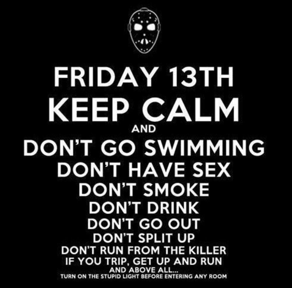 It's #FridayThe13th! https://t.co/jK79cRikRv