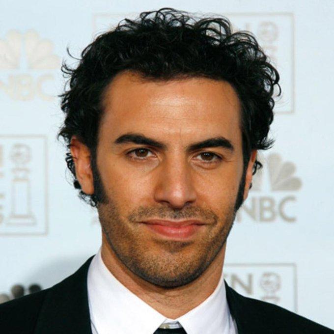 High five! Borat is 46. Happy birthday, Sacha Baron Cohen!