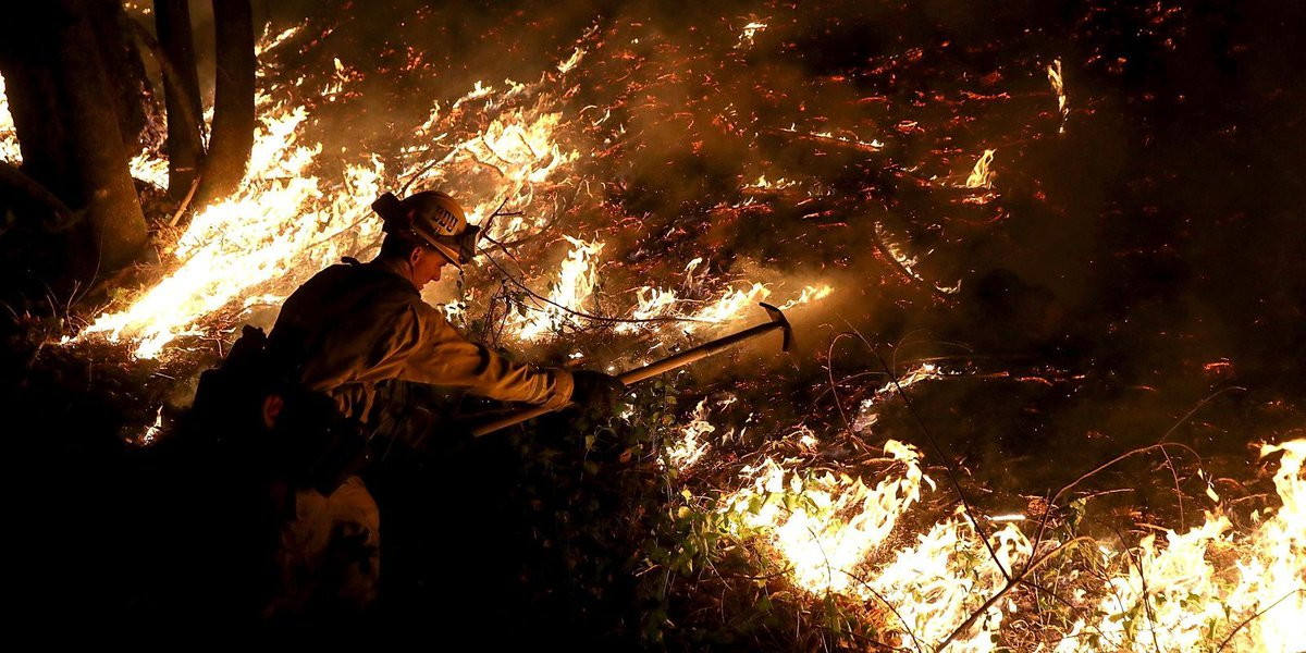 Californians try to fight fires, find loved ones