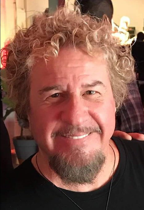 Congratulations! HAPPY! 70th! BIRTHDAY!  Sammy! Hagar! Sweeet! Way! Cool! Aaaaay!