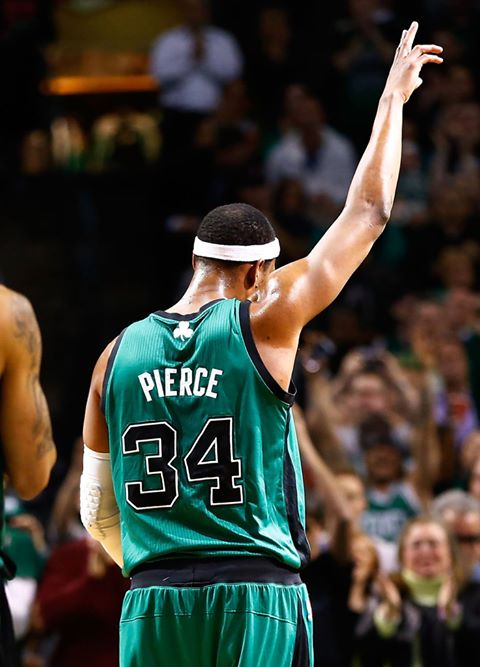 Friday the 13th doesn t always mean bad news. Happy Birthday to a Boston good luck charm Paul Pierce!