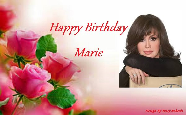 Happy Birthday to Marie Osmond she is 58 today. Love you girl have a great day.
