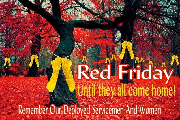 #REDFriday