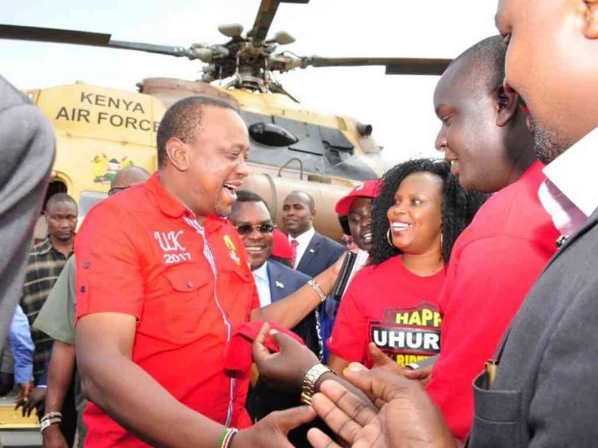 Late minister Mwangale's daughter sings Uhuru's praises in Bungoma