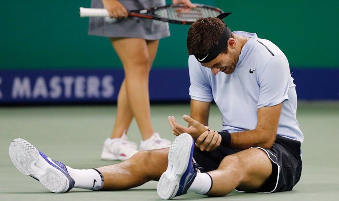 Lesión de Del Potro podría obligarlo a no disputar semis de Shangái https://t.co/OY7gjfbrLK https://t.co/Ee811uCpwa