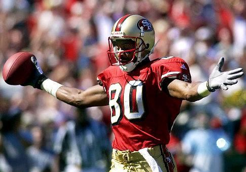 Happy BDay to lifetime member and Hall of Famer Jerry Rice!