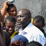 Ex-footballer Weah ahead in Liberia election partial results