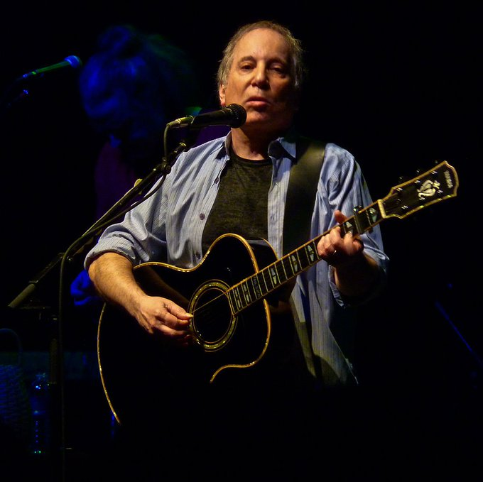 One of the greatest songwriters was born today in 1941. Happy birthday Paul Simon!