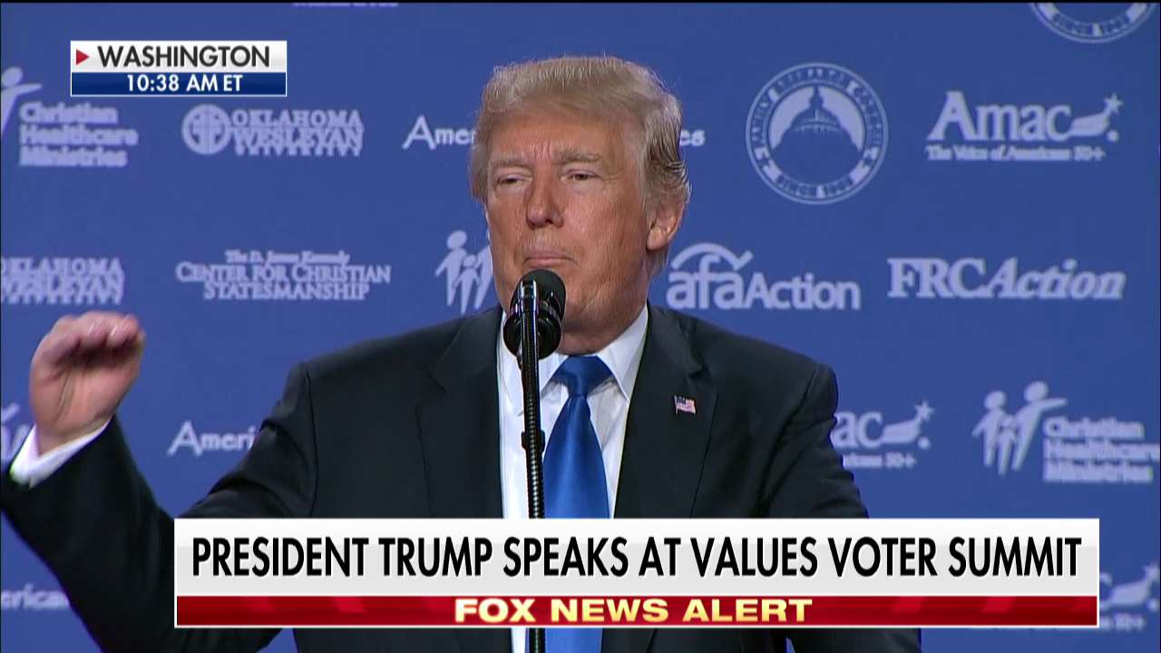 .@POTUS: 'We're going to have great healthcare in our country.' https://t.co/tt1580EynK  #ValuesVoterSummit https://t.co/SkmaPfr9FE