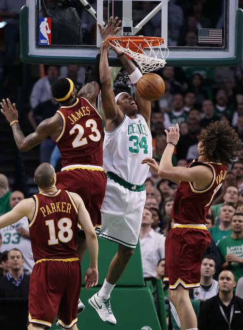 Happy 40th birthday to Paul Pierce! His last birthday before hangs in the rafters forever!