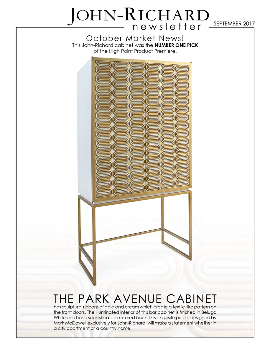 The Park Avenue Cabinet Was 1 Pick From StudioM For HPMKT Product Premiere Come See Yourself 200Steele Bldg Suite On 2nd FL Tco