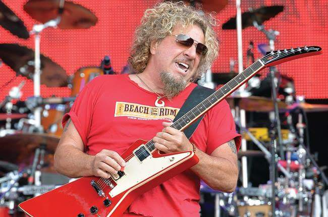 Happy birthday SAMMY HAGAR (70)!
