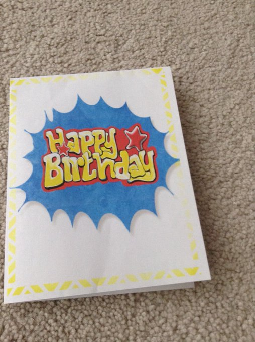 Happy Birthday to you here is a special card for you