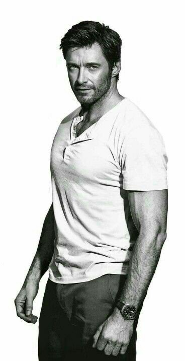 Message in love with Hugh Jackman Happy Birthday to you