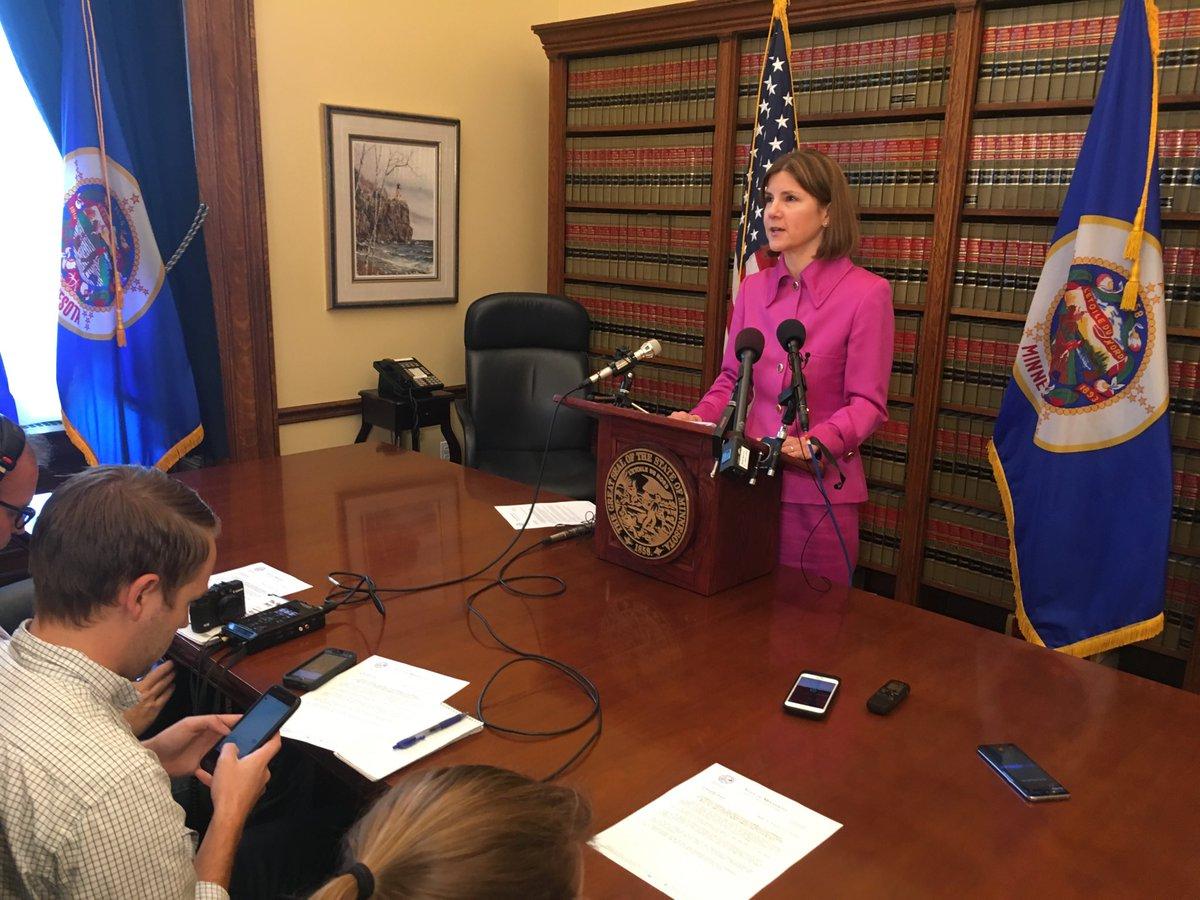 AG Lori Swanson announces Minn johncroman