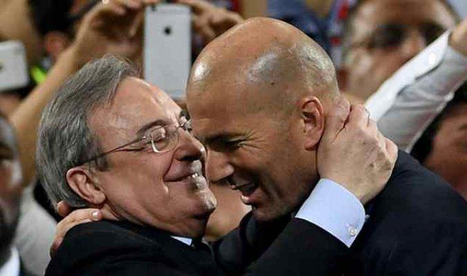 El regalo de #FlorentinoPérez a #Zidane por sus 100 partidos: ¡Un 'bombazo' para el francés! https://t.co/jTx5M59CeN https://t.co/mjvZjYXt2j