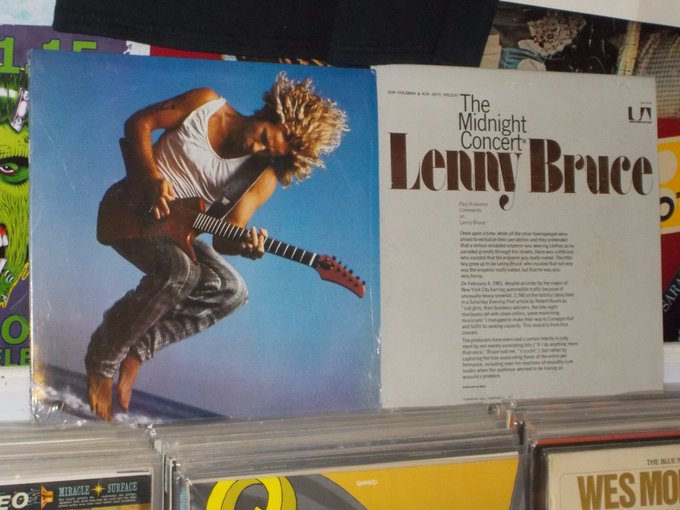 Happy Birthday to Sammy Hagar & the late Lenny Bruce