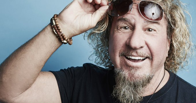 Happy Birthday number 70 to the Red Rocker, Sammy Hagar!