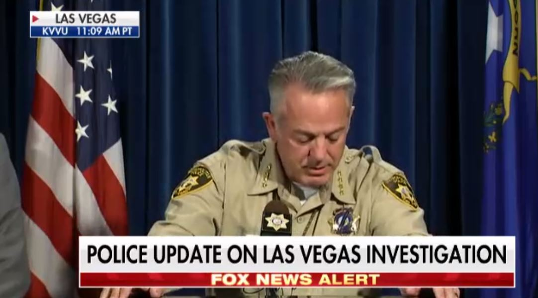 .@Sheriff_LVMPD : 'We used 17 separate medical facilities [for those injured in the #LasVegasShooting].' https://t.co/p4k1kydET9