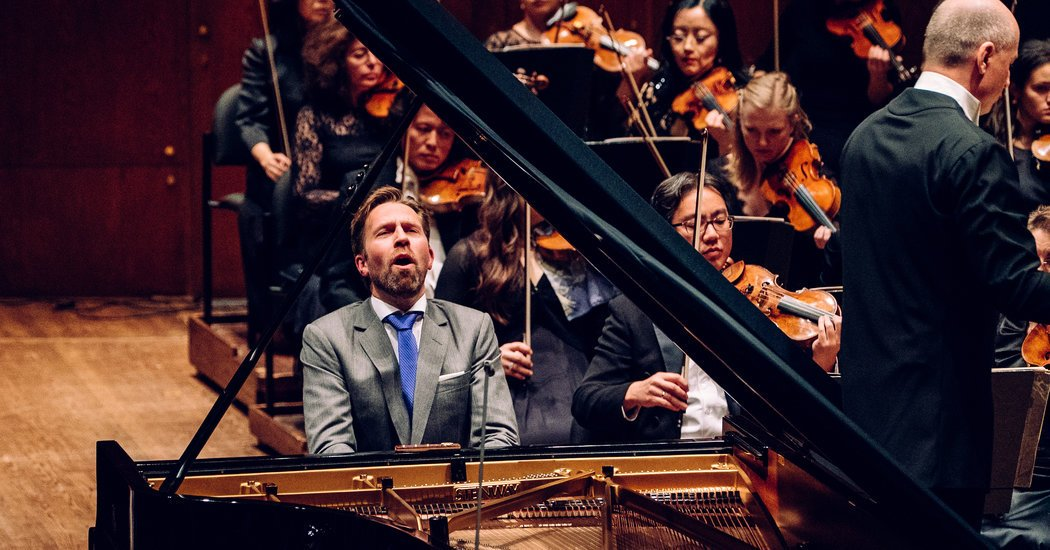 Review: Leif Ove Andsnes Blazes Out a Rachmaninoff Rarity